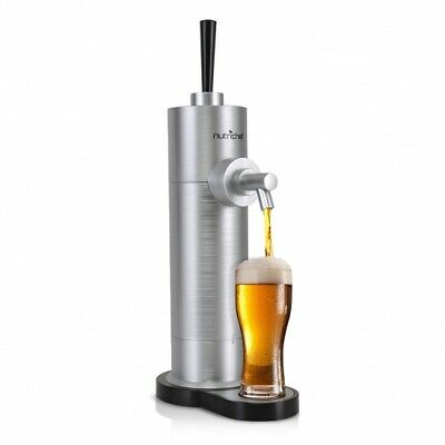 Nutrichef Automatic Portable Home Bar Table Top Beer Drink Can Dispenser Pump