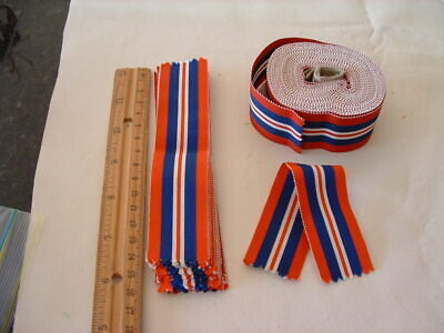 Original Issue Silk / Cotton 1939-1945 War Medal Ribbon