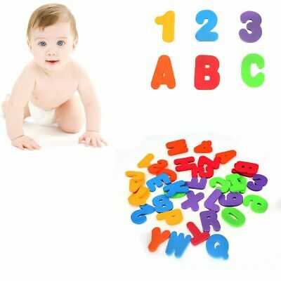 Quality Stick on New Alphanumeric Numbers&Letters Educational Floating Bath Toy