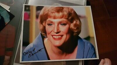 Star Trek Hand Signed Autograph Majel Barrett As Christine Chapel