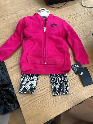 Girls Nike Fleece And Legging Set Age 18months BNWT