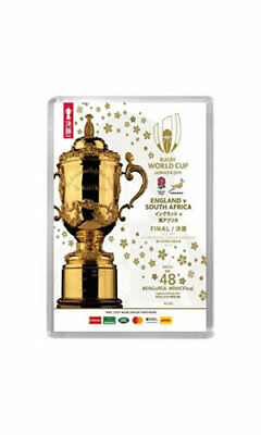2019 WORLD CUP FINAL PROGRAMME COVER England vs South Africa fridge magnet