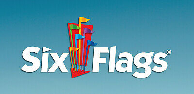 (1) SIX FLAGS U.S. Parks Adult SINGLE DAY General Admission eTicket 2019