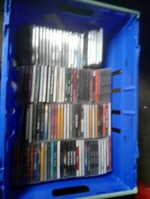 Massive joblot mixed music cds 500 plus 3/4 still sealed great resale or keep