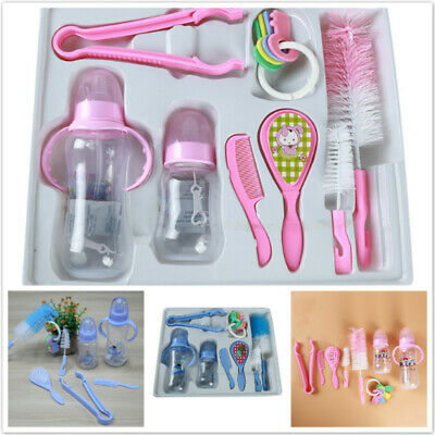 Newborn Bottle Gift Set Baby Milk Feeding Bottles Feeding Tool J