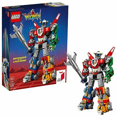 LEGO Ideas Voltron 21311 Building Kit (2321 Pieces) NEW SEALED IN BOX!