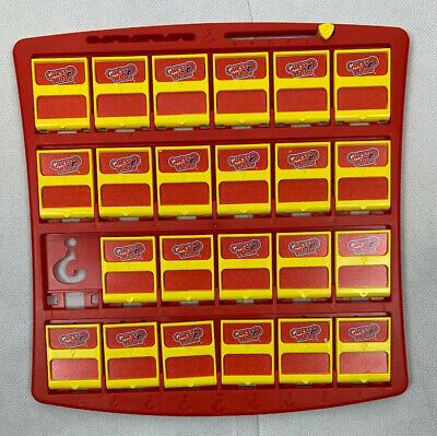 2017 Guess Who? Game By Hasbro Replacement Parts Free Shipping Red Board