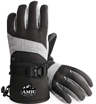 Ski & Snowboard Men & Women Gloves Winter Warm 3M Thinsulate Waterproof Cold Wea
