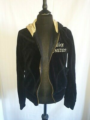 Girls JUICY COUTURE Velour Full Zip Hoodie Age 9-10 Years