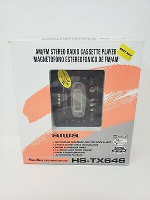 Aiwa HS-TX646 AM/FM Stereo Cassette Radio Player