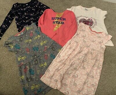 Girls Age 5-6 Years Bundle H&M Blue Zoo Outfit Tu
