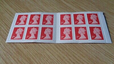 12 x FIRST CLASS Royal mail stamps - Letters Self Adhesive