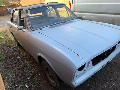 1969 MK2 FORD CORTINA 1600GT unfinished restoration project, classic ford