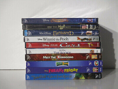 Wholesale Lot Of 10 (Brand New) Assorted (Disney) DVDs