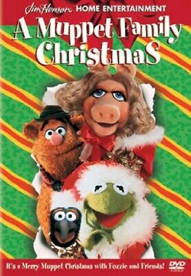 A Muppet Family Christmas DVD MOVIE, FREE 2-3 EXPEDITED SHIPPING