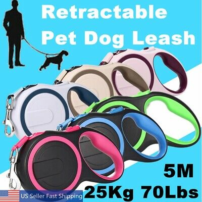 Retractable Dog Leash 6Ft Medium Large Dogs up to 55 lbs Reflective Purple  B