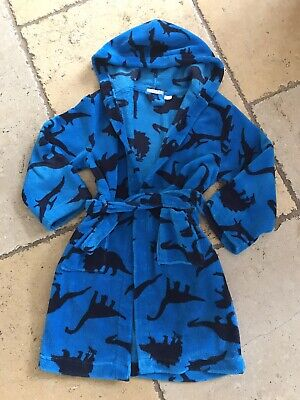 Supersoft John Lewis Dinosaur Dressing Gown 7-8