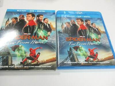 Spider-Man: Far From Home (Blu-ray Disc, 2019) 1-Disc + Cover Art NO CASE