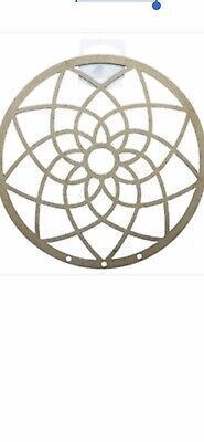 Raw Wooden Dreamcatcher 9cm Diameter Ready To Decorate Pack Of 2