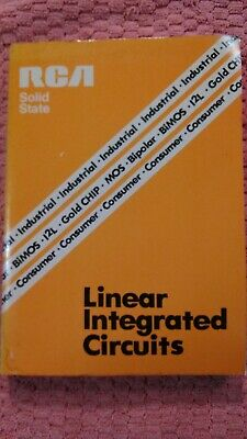 RCA LINEAR INTEGRATED CIRCUITS & MOS/FET's DATA BOOK Vintage 1978