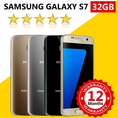 Samsung Galaxy S7 32GB SMG930F 100% 4G LET Unlocked NEW SEALED Smartphone
