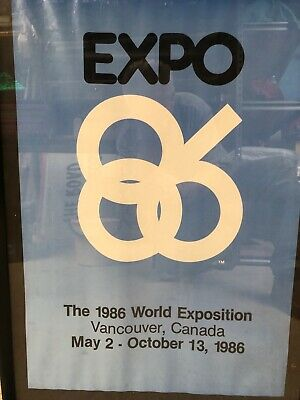 Collectable poster. Expo 86 Vancouver Canada