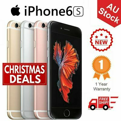 Apple iPhone 6s 16GB 32GB 64GB Grey Silver Rose Gold 4G LTE Unlocked Plus Gift