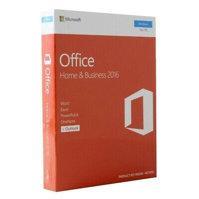 INSTANT DELIVERY!!!! Genuine Microsoft Office home and business 2016 for PC