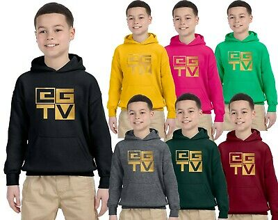 The Gamer Gold Kids Hoodies Gaming Youtuber Vlogger Boys Christmas Gifts