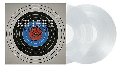 The Killers Direct Hits Hmv Exclusive Clear Vinyl Lp Limited Edition Brand New