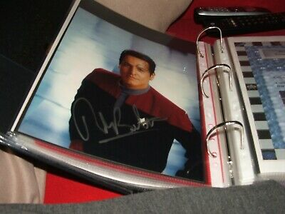 Star Trek hand signed autograph Robert Beltran As Chakotay