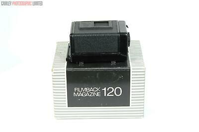 Bronica ETR 120 Roll Film Back. Boxed. Graded: EXC- [#9051]