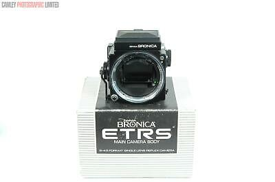 Bronica ETRS Camera Body & WLF. Boxed. Graded: EXC+ [#9053]
