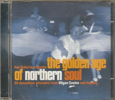 The golden age of Northern Soul Two CD 50 tracks Presented by Kev Roberts