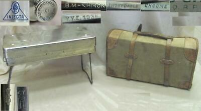 Wwii German Wehrmacht Tropical Dak Field Surgical Medical Set Rare