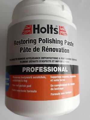 Holts Professional Restoring Polish Paste Silicone Free - 1kg HAPP0011A