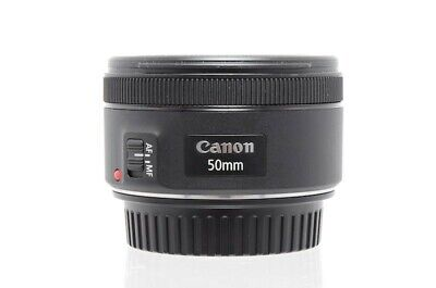 Used Canon EF 50mm F1.8 STM Lens (SH33638A)