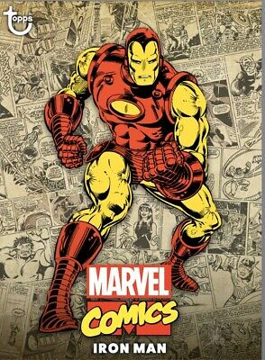 Topps Marvel Collect Iron man Classic Color Award