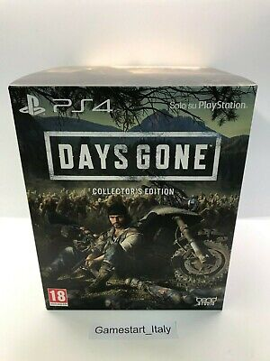 Days Gone Collector's Edition - Sony Ps4 - Nuovo Sigillato Pal Ita - New Sealed