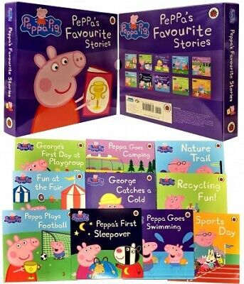 Peppa Pig Favourite Stories 10 Books Collection Set PB NEW