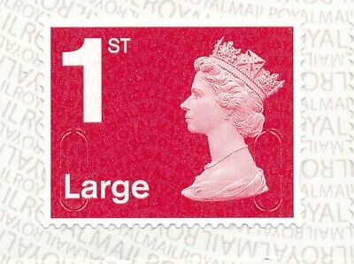 """2019 """"M19L""""-""""MBIL"""" 1st LARGE DEEP Red SBP2i - Single Stamp from Business Sheet"""