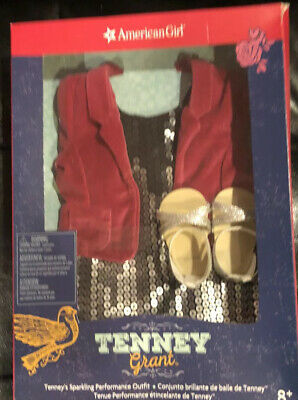 American Girl Tenney Grant Sparkling Performance Outfit Nib Nrfb Retired