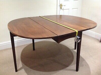 "Georgian,Victorian Dining Table ,44"" x 51"" Drop Leaf Bexleyheath DA7"