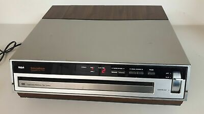 RCA SGT-200 SelectaVision Stereo VideoDisc Player CED Video Disk Disc TESTED