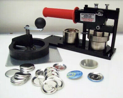 """Tecre Model #150 1.5"""" Button Maker Machine With Fixed Rotary Cutter"""