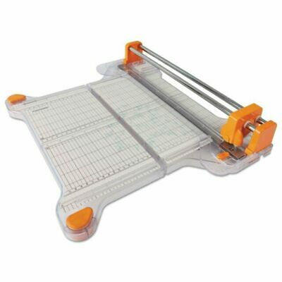 TABLETOP CRAFT FABRIC/PAPER CUTTER - Fiskars Precision Rotary Bypass Trimmer