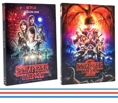STRANGER THINGS  DVD  Season 1 2