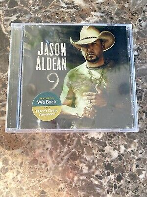 JASON ALDEAN -  '9' Nine - CD - NEW - Sealed - IN HAND