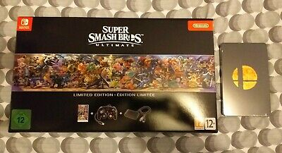 Super Smash Bros Ultimate Limited Edition - Nintendo Switch