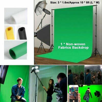 5x10ft Photography Studio Non-woven Screen Photo Background Colors Backdrop Tool